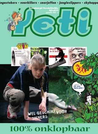 cover van Yeti nr. 6 van September 2002