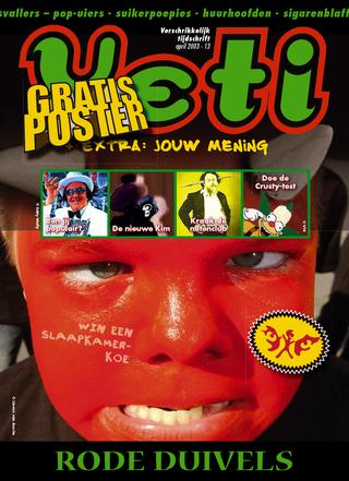 cover van Yeti nr. 13 van April 2003