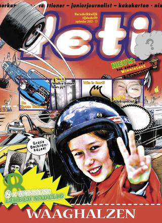 cover van Yeti nr. 15 van September 2003