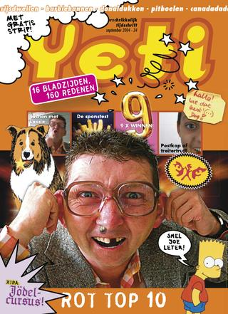 cover van Yeti nr. 24 van September 2004