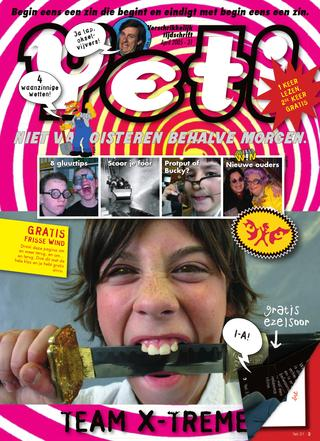 cover van Yeti nr. 31 van April 2005