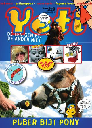 cover van Yeti nr. 33 van September 2005