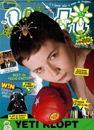 cover van Yeti nr. 58 van April 2008