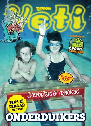 cover van Yeti nr. 78 van September 2010