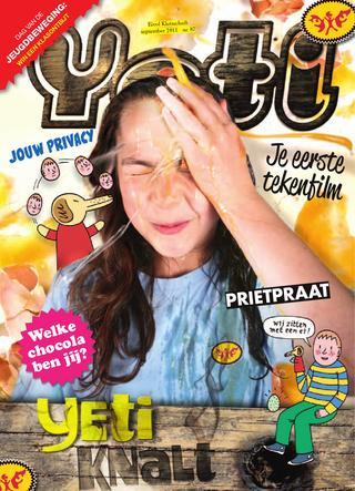 cover van Yeti nr. 87 van September 2011