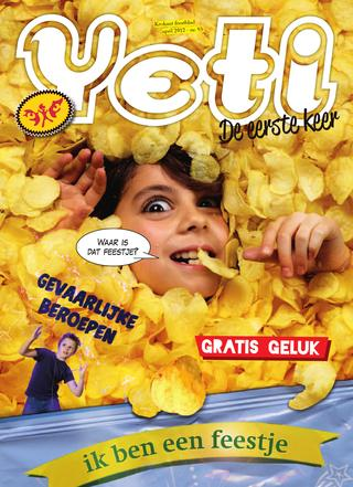 cover van Yeti nr. 93 van April 2012