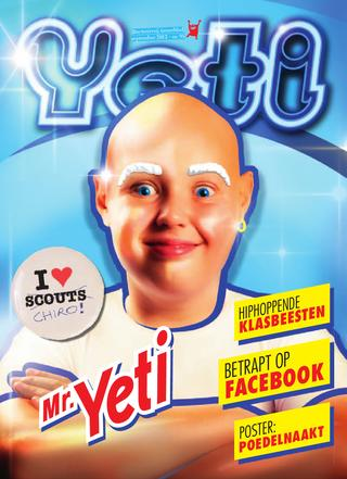 cover van Yeti nr. 95 van September 2012